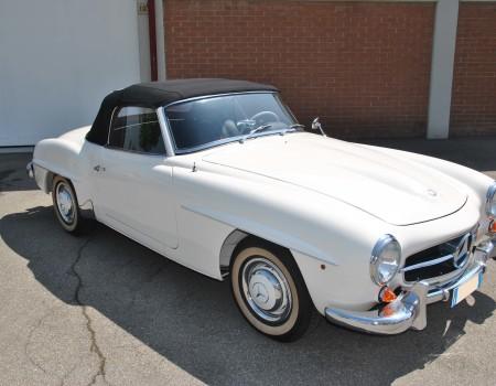 Mercedes 190 sl anno 1958