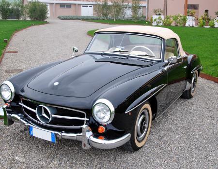 Mercedes 190 sl anno 1959